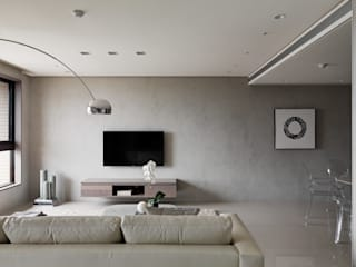 Modern Living Room by 形構設計 Morpho-Design Modern
