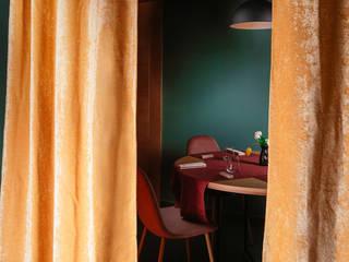 Hosteria Bugiarda - contemporary kitchen Gastronomia in stile minimalista di manuarino architettura design comunicazione Minimalista