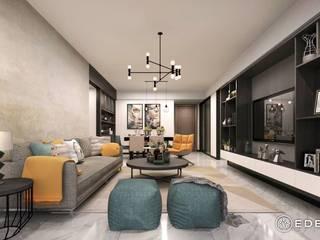 living room من Eden Designs حداثي