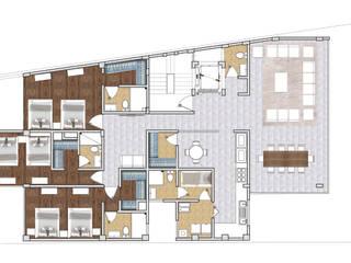 Dormitorios de estilo moderno de AAVE Diseño y Construcción Moderno