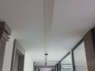 Ankara Özel Ofis Projesi ve Uygulanma Modern Koridor, Hol & Merdivenler Mekgrup İç Mimari ve Dekorasyon Modern