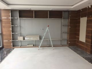 Ankara Özel Ofis Projesi ve Uygulanma Modern Çalışma Odası Mekgrup İç Mimari ve Dekorasyon Modern