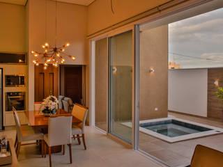 Cozinha Gourmet Integrada por Celis Bender Arquitetura e Interiores Moderno