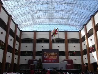 Palacio Municipal de Rosarito Baja California Capelli&Bauer Edificios de oficinas de estilo moderno Transparente