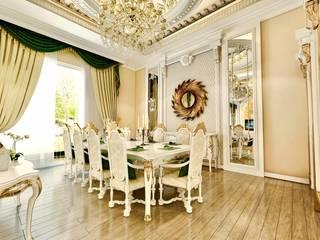 Toskana Vadisi Villaları 2 Klasik Yemek Odası Decorvita mimarlık Klasik