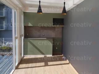 Casa contenedor Cocinas modernas de Creativo 84 Moderno