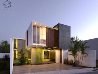 CASA K+LU:  de estilo  por R20 Arquitectos,