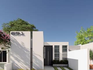 CASA TULIPANES:  de estilo  por R20 Arquitectos,