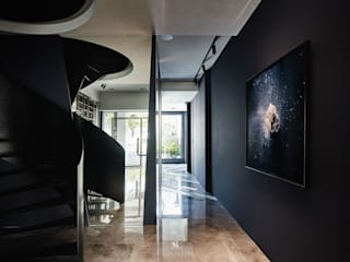 理絲室內設計有限公司 Ris Interior Design Co., Ltd. Escaleras Hierro/Acero Negro