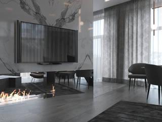 Living room by Дизайнер интерьера Ольга Фурманова