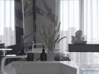 Bathroom by INTERIOR DESIGN OLGA FURMANOVA / Дизайнер интерьера Ольга Фурманова,