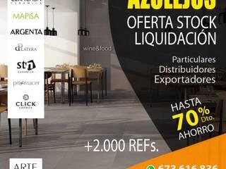 Liquidación de stock cerámico. de Azulejos Artegres Moderno