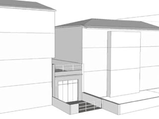 Modern Garage and Shed by Nuno Ladeiro, Arquitetura e Design Modern
