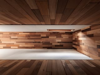 木耳生活藝術 Minimalist walls & floors Solid Wood