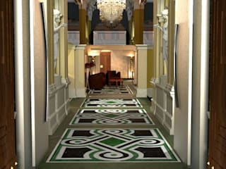 Restyling Project for a Hotel in Rome de ARTE DELL' ABITARE Clásico
