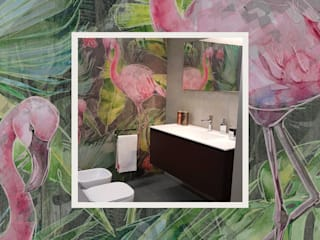 Tropical style walls & floors by Tecnografica Tropical