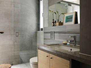 Casas de banho  por 木耳生活藝術, Minimalista