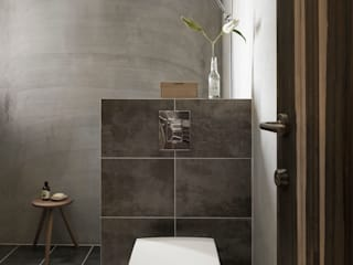 Baños minimalistas de 木耳生活藝術 Minimalista