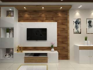 SHUBHA ASHISH Modern living room by Clickhomz Modern