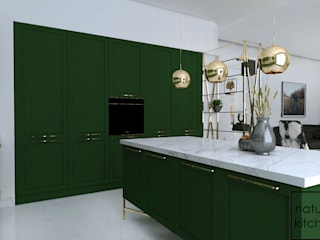 NATURAL KITCHEN – ELEGANTE:  tarz ,