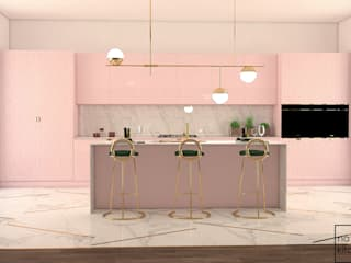 NATURAL KITCHEN – ROSA:  tarz ,