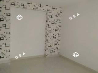 ALQUILER HERMOSO APARTAMENTO CON ACABADOS DE LUJO POR CAMPANARIO Gea Inversiones Inmobiliarias Habitaciones modernas