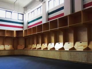 Icedome Estadios de estilo minimalista de Maquiladora de Muebles Minimalista