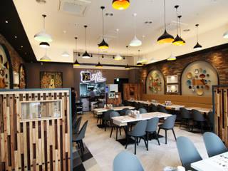 레스토랑 - 라온삼계탕 by IDA - 아이엘아이 디자인 아틀리에 러스틱 (Rustic)