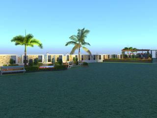 Morning Glory Duplex Bunglow:  Garden Shed by Future Design Studio,Modern