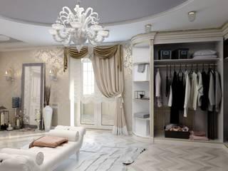 Classic style dressing room by Цунёв_Дизайн. Студия интерьерных решений. Classic