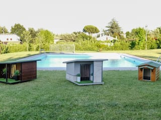 Cucce di design da esterno di Pet House Design® Moderno