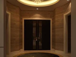 Corredores e halls de entrada  por smarthome, Moderno