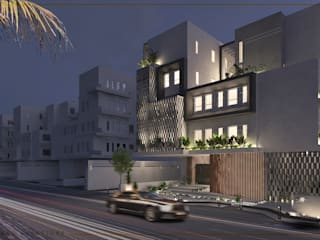 Architecture design | Mecca Residence :  Small houses by Saif Mourad Creations, Modern