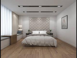 Kamar Tidur oleh 立騰空間設計, Modern
