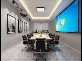 Ruang Multimedia oleh 立騰空間設計, Modern