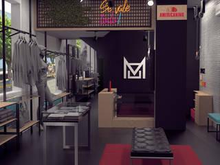"""Diseño de boutique Moorea en Buenaventura.:  de estilo {:asian=>""""asiático"""", :classic=>""""clásico"""", :colonial=>""""colonial"""", :country=>""""rural"""", :eclectic=>""""ecléctico"""", :industrial=>""""industrial"""", :mediterranean=>""""Mediterráneo"""", :minimalist=>""""minimalista"""", :modern=>""""moderno"""", :rustic=>""""rústico"""", :scandinavian=>""""escandinavo"""", :tropical=>""""tropical""""} por Magrev,"""