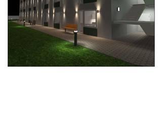 Hill-Sand Illumination Rumah Sakit Klasik Aluminium/Seng Transparent