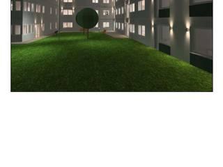 Casas de retiro en Estocolmo Hill-Sand Illumination Hospitales de estilo clásico Aluminio/Cinc Transparente