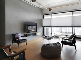 Salas de estar  por 木耳生活藝術, Moderno