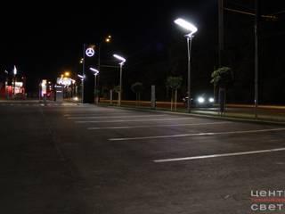 """Подсветка автосалона """"MERCEDES-BENZ"""" Автосалоны в стиле минимализм от Центр Технического Света Минимализм"""