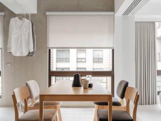Minimalist dining room by 文儀室內裝修設計有限公司 Minimalist