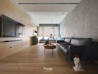 Living room by 六相設計 Phase6, Eclectic