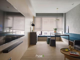 Eclectic style dining room by 六相設計 Phase6 Eclectic