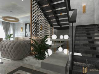 Couloir, entrée, escaliers classiques par Saif Mourad Creations Classique