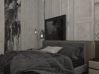 Duplex Apartment | El Banafseg:  Bedroom by Saif Mourad Creations, Classic