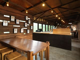 Minimalist dining room by 木耳生活藝術 Minimalist