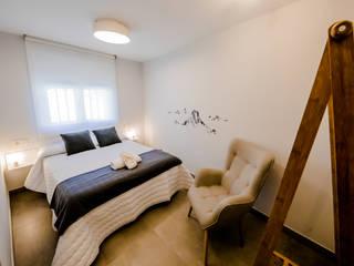 Casa Rural Peña Gamella: Hoteles de estilo  de MOLADECO INTERIORISMO, Ecléctico
