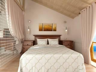 Antalya'da bir Konut Projesi Klasik Yatak Odası Kalya İç Mimarlık \ Kalya Interıor Desıgn Klasik