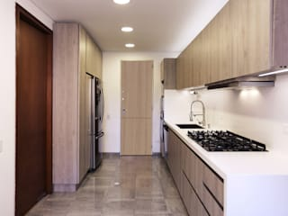 Gamma Built-in kitchens Wood