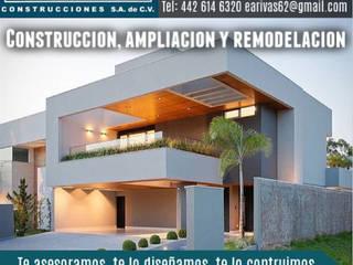 Projekty,  Dom wielorodzinny zaprojektowane przez EARR CONSTRUCCIONES, S.A. DE C.V., Minimalistyczny